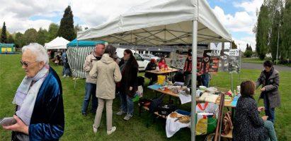 Le Sel du pays de fougères était présent au village du réemploi ce 29 avril 2017 à Fougères